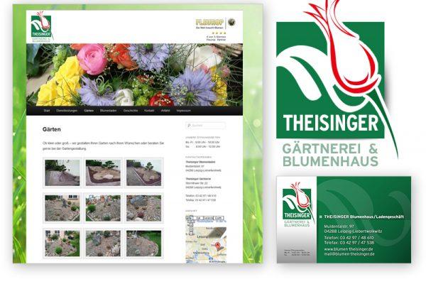 Blumen Pflanzen Logodesign, Blumenhaus, Logodesigner, Pflanzenhau. Gärtnerei Logodesign Logo