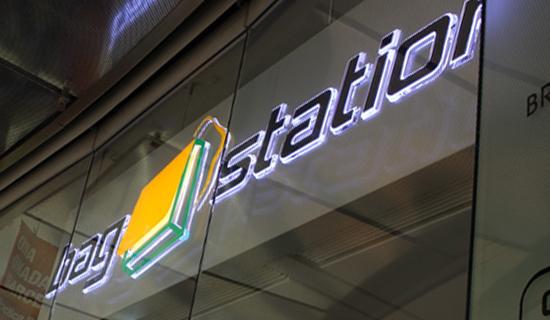 Logodesign - Bag Station, Leipzig Hauptbahnhof, Taschen Logo, Light Logo