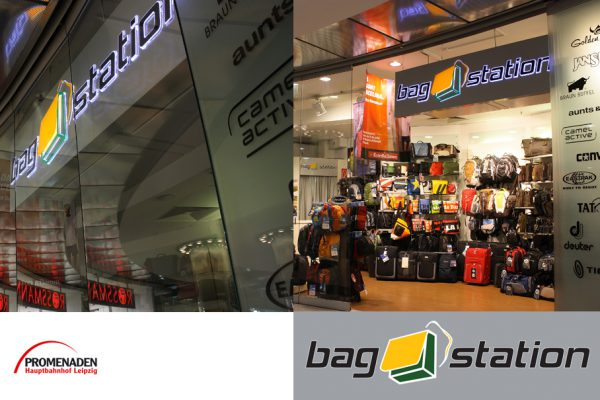 Bag Station Taschen RUcksack Logodesign Koffer Logodesigner