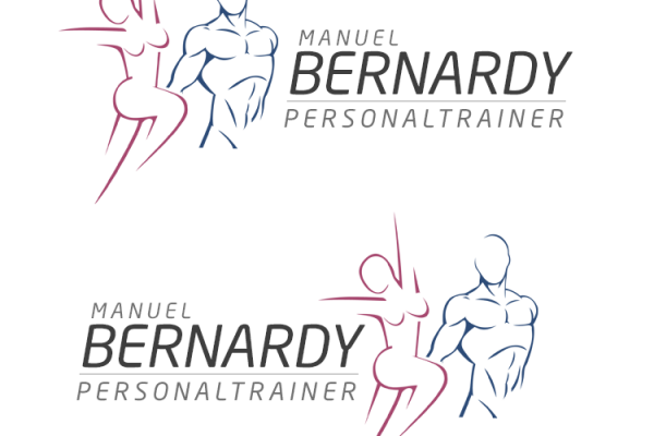 Personal Coach Training Logodesign Personaltrainer Logo