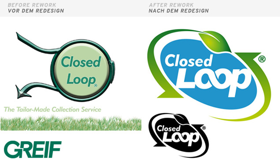 Logodesign - natural - Reengineering - Renew - Loop - Logo