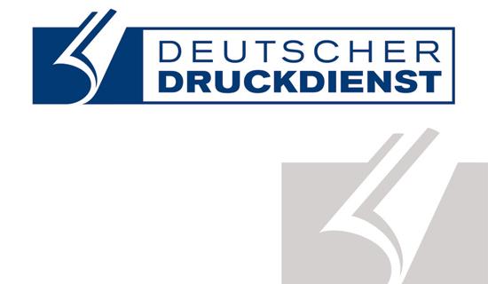 Deutscher Druckdienst - Logodesign