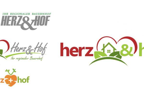 Herz und Hof - Ökologiehof - Ökologie Logodesign