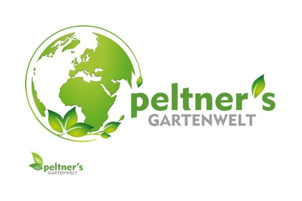 Logodesign Garten - Logodesign Gartenpflege - Peltner Gartenwelt Logodesign