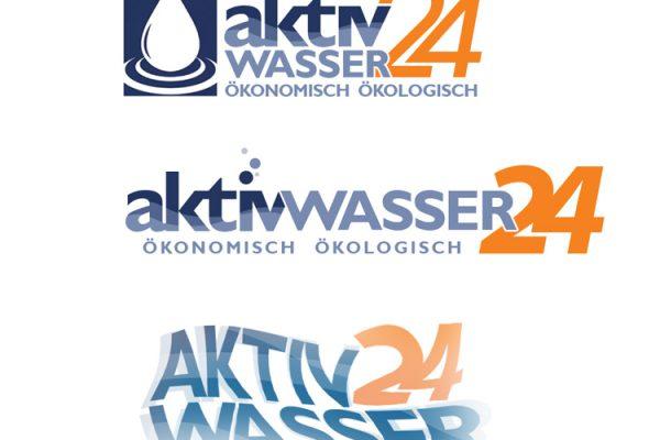 Wasser Logodesign, Lequid logo, Water Logodesigner