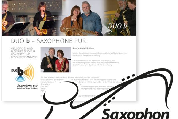Saxophon Logodesign Saxophon Logodesigner Saxophon Brückner