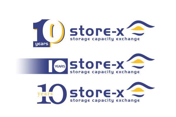 Logodesign - Firmenjubiläum - strore X - 10 Jahre